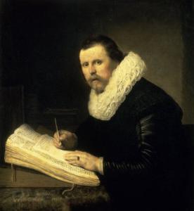 A Scholar by Rembrandt van Rijn