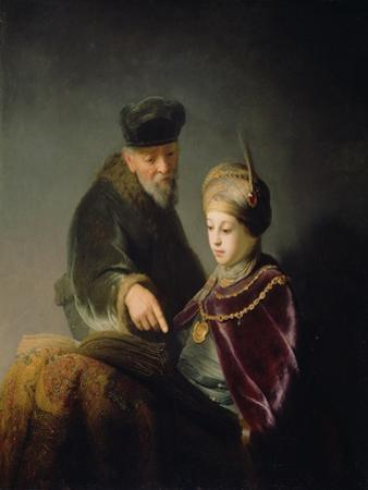 A Young Scholar and His Tutor, C. 1629-30 by Rembrandt van Rijn