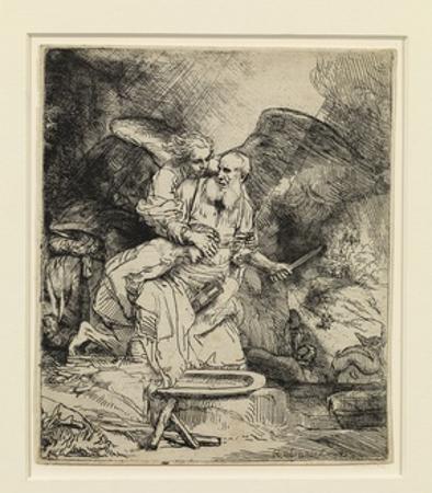 Abraham's Sacrifice, 1655 by Rembrandt van Rijn
