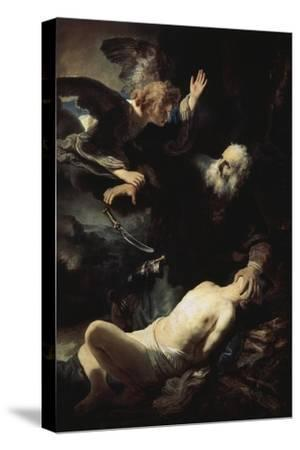 Abraham's Sacrifice by Rembrandt van Rijn