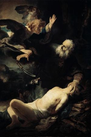 Abraham Sacrificing Isaac, 1635 by Rembrandt van Rijn