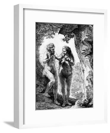 Adam and Eve, 1638