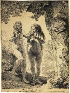 Adam and Eve, 1638 by Rembrandt van Rijn