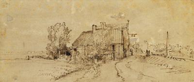 An Inn by a Roadside by Rembrandt van Rijn