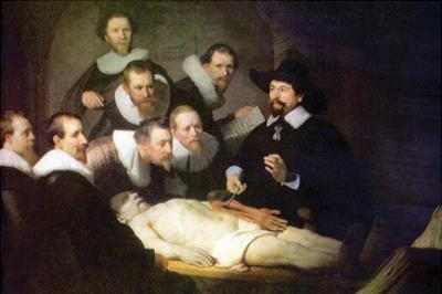 Anatomy of Dr. Tulp by Rembrandt van Rijn