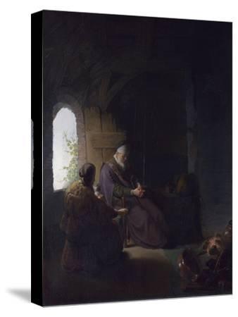 Anna and the Blind Tobit, C.1630 by Rembrandt van Rijn