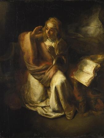 Annunciation by Rembrandt van Rijn