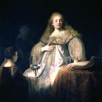 Artemisia, 1634 by Rembrandt van Rijn
