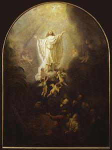 Ascension of Christ by Rembrandt van Rijn