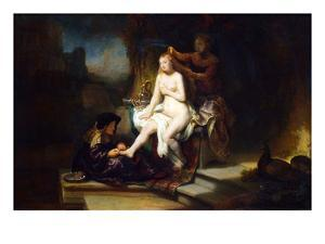 Bathsheba at Her Bath by Rembrandt van Rijn