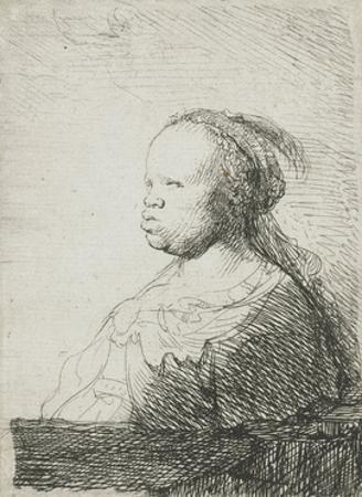 Bust of an African Woman, 1628-32 by Rembrandt van Rijn
