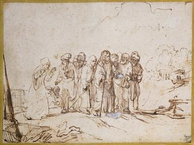 Christ and the Canaanite Woman by Rembrandt van Rijn