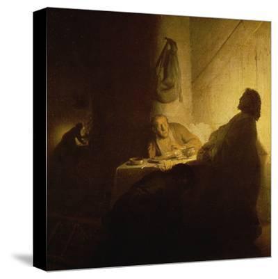 Christ at Emmaus by Rembrandt van Rijn