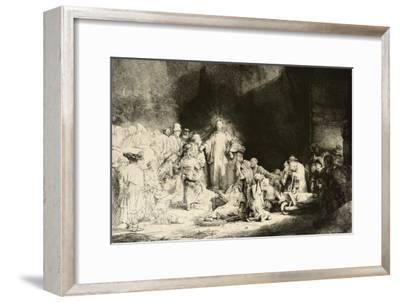 Christ Healing the Sick, 'The Hundred Guilder Print', C. 1649 by Rembrandt van Rijn