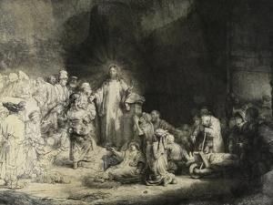 Christ Healing the Sick: the 'Hundred Guilder Print', C. 1649 by Rembrandt van Rijn