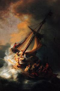 Christ in the Storm on the Lake Genezareth by Rembrandt van Rijn