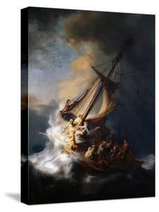 Christ in the Storm on the Lake of Galilee, 1633 by Rembrandt van Rijn