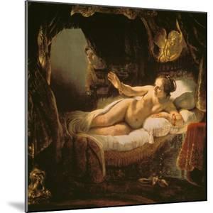 Danae, 1636/1647 by Rembrandt van Rijn