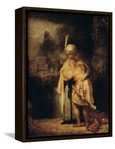 David and Jonathan, 1642 by Rembrandt van Rijn