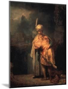 David's Parting from Absalom (Jonathan?), 1642 by Rembrandt van Rijn