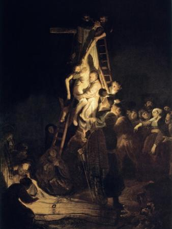 Descent from the Cross, 1634 by Rembrandt van Rijn