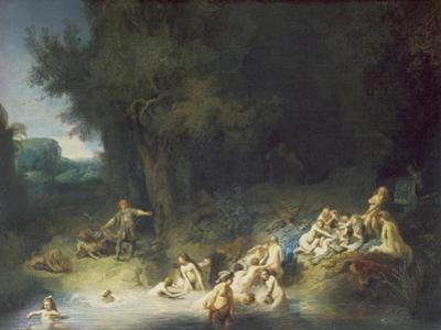 Diana with Actaeon and Callisto by Rembrandt van Rijn