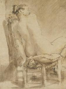 Female Nude by Rembrandt van Rijn