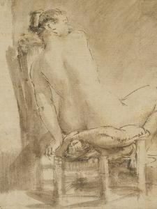 Female Nude by Rembrandt van Rijn