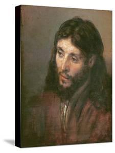 Head of Christ, c.1648 by Rembrandt van Rijn
