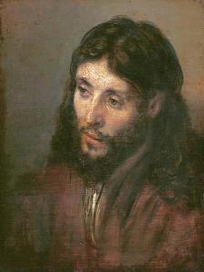 Head of Christ, c.1648 by Rembrandt van Rijn