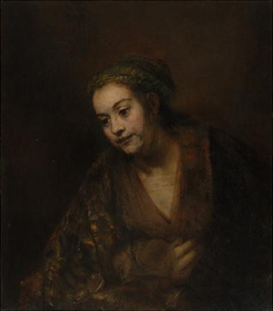 Hendrickje Stoffels, c.1650 by Rembrandt van Rijn