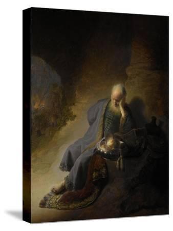 Jeremiah Lamenting over the Destruction of Jerusalem, 1630 by Rembrandt van Rijn
