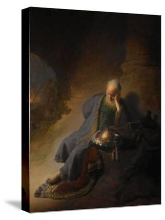Jeremiah Lamenting the Destruction of Jerusalem, 1630 by Rembrandt van Rijn