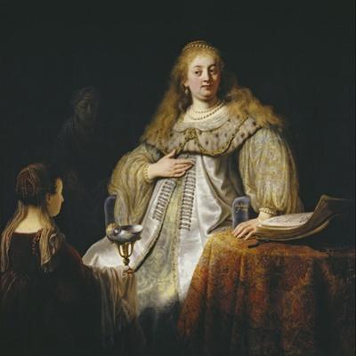 Judith at the Banquet of Holofernes, 1634 by Rembrandt van Rijn