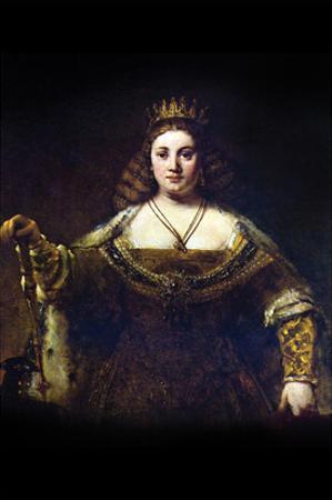 Juno by Rembrandt van Rijn