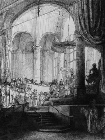 Medea, or the Marriage of Jason and Creusa, 1648 (Etching and Drypoint) by Rembrandt van Rijn