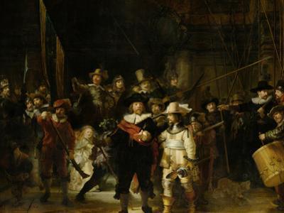 Militia Company of District II by Rembrandt van Rijn