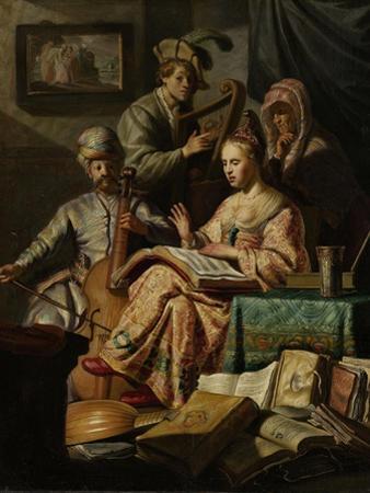 Musical Company by Rembrandt van Rijn