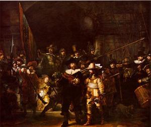 Night Watch by Rembrandt van Rijn