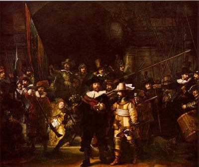 Night Watch by Rembrandt van Rijn