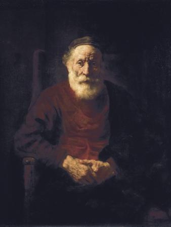Old Man Seated by Rembrandt van Rijn
