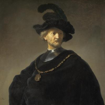 Old Man with a Gold Chain, 1631 by Rembrandt van Rijn