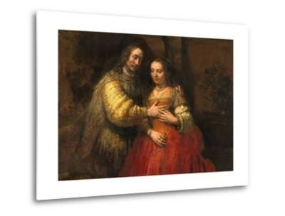Portrait of a Couple as Figures from the Old Testament, known as 'The Jewish Bride'