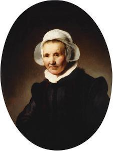 Portrait of a Lady by Rembrandt van Rijn