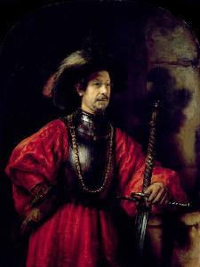 Portrait of a Man in Military Costume, 1650 by Rembrandt van Rijn