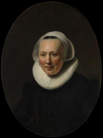 Portrait of a Woman, 1633 by Rembrandt van Rijn