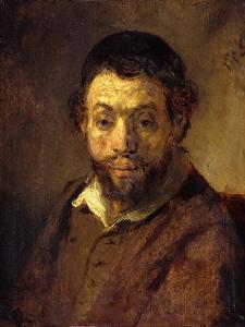 Portrait of a Young Jew by Rembrandt van Rijn