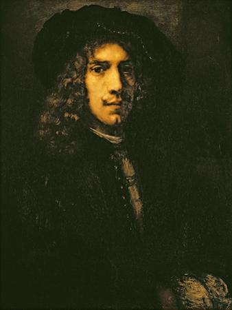 Portrait of a Young Man, 1658 by Rembrandt van Rijn