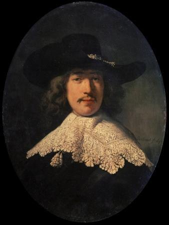 Portrait of a Young Man with a Lace Collar, 1634 by Rembrandt van Rijn