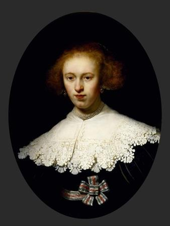 Portrait of a Young Woman, 1633 by Rembrandt van Rijn